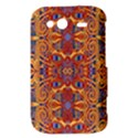 Oriental Watercolor Ornaments Kaleidoscope Mosaic HTC Wildfire S A510e Hardshell Case View3