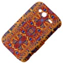 Oriental Watercolor Ornaments Kaleidoscope Mosaic HTC Wildfire S A510e Hardshell Case View4