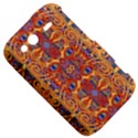 Oriental Watercolor Ornaments Kaleidoscope Mosaic HTC Wildfire S A510e Hardshell Case View5