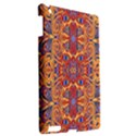 Oriental Watercolor Ornaments Kaleidoscope Mosaic Apple iPad 3/4 Hardshell Case View2