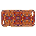 Oriental Watercolor Ornaments Kaleidoscope Mosaic HTC One V Hardshell Case View1