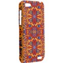 Oriental Watercolor Ornaments Kaleidoscope Mosaic HTC One V Hardshell Case View2