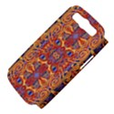 Oriental Watercolor Ornaments Kaleidoscope Mosaic Samsung Galaxy S III Hardshell Case (PC+Silicone) View4