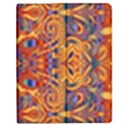 Oriental Watercolor Ornaments Kaleidoscope Mosaic Apple iPad 3/4 Flip Case View1