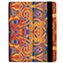 Oriental Watercolor Ornaments Kaleidoscope Mosaic Apple iPad 3/4 Flip Case View2