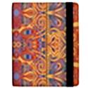 Oriental Watercolor Ornaments Kaleidoscope Mosaic Apple iPad Mini Flip Case View2