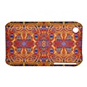 Oriental Watercolor Ornaments Kaleidoscope Mosaic Apple iPhone 3G/3GS Hardshell Case (PC+Silicone) View1