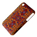 Oriental Watercolor Ornaments Kaleidoscope Mosaic Apple iPhone 3G/3GS Hardshell Case (PC+Silicone) View4
