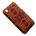Oriental Watercolor Ornaments Kaleidoscope Mosaic Apple iPhone 3G/3GS Hardshell Case (PC+Silicone) View5