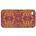 Oriental Watercolor Ornaments Kaleidoscope Mosaic Apple iPhone 4/4S Hardshell Case (PC+Silicone) View1