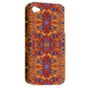 Oriental Watercolor Ornaments Kaleidoscope Mosaic Apple iPhone 4/4S Hardshell Case (PC+Silicone) View2