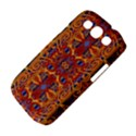 Oriental Watercolor Ornaments Kaleidoscope Mosaic Samsung Galaxy S III Classic Hardshell Case (PC+Silicone) View4