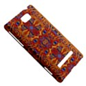 Oriental Watercolor Ornaments Kaleidoscope Mosaic HTC 8S Hardshell Case View5