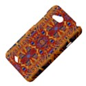 Oriental Watercolor Ornaments Kaleidoscope Mosaic HTC Desire VC (T328D) Hardshell Case View4
