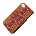 Oriental Watercolor Ornaments Kaleidoscope Mosaic Apple iPhone 4/4S Hardshell Case with Stand View4