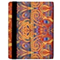 Oriental Watercolor Ornaments Kaleidoscope Mosaic Samsung Galaxy Tab 10.1  P7500 Flip Case View2