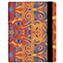 Oriental Watercolor Ornaments Kaleidoscope Mosaic Samsung Galaxy Tab 10.1  P7500 Flip Case View3