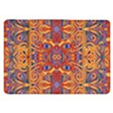 Oriental Watercolor Ornaments Kaleidoscope Mosaic Samsung Galaxy Tab 8.9  P7300 Flip Case View1