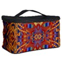 Oriental Watercolor Ornaments Kaleidoscope Mosaic Cosmetic Storage Case View2