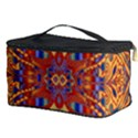 Oriental Watercolor Ornaments Kaleidoscope Mosaic Cosmetic Storage Case View3