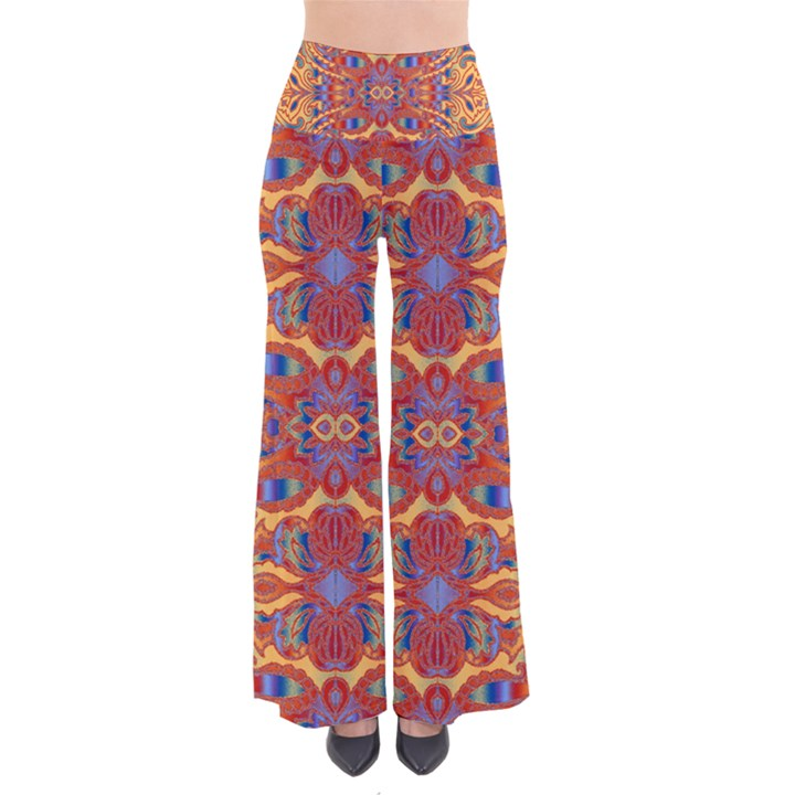 Oriental Watercolor Ornaments Kaleidoscope Mosaic Pants