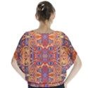 Oriental Watercolor Ornaments Kaleidoscope Mosaic Blouse View2