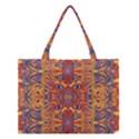 Oriental Watercolor Ornaments Kaleidoscope Mosaic Medium Tote Bag View1