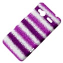 Metallic Pink Glitter Stripes HTC Radar Hardshell Case  View4