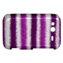 Metallic Pink Glitter Stripes HTC Wildfire S A510e Hardshell Case View1
