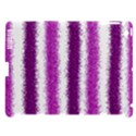 Metallic Pink Glitter Stripes Apple iPad 3/4 Hardshell Case (Compatible with Smart Cover) View1