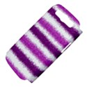 Metallic Pink Glitter Stripes Samsung Galaxy S III Hardshell Case (PC+Silicone) View4