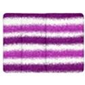 Metallic Pink Glitter Stripes Kindle Fire (1st Gen) Flip Case View1