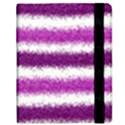Metallic Pink Glitter Stripes Kindle Fire (1st Gen) Flip Case View2