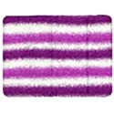 Metallic Pink Glitter Stripes Samsung Galaxy Tab 7  P1000 Flip Case View1