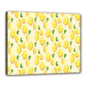 Pattern Template Lemons Yellow Canvas 20  x 16  View1
