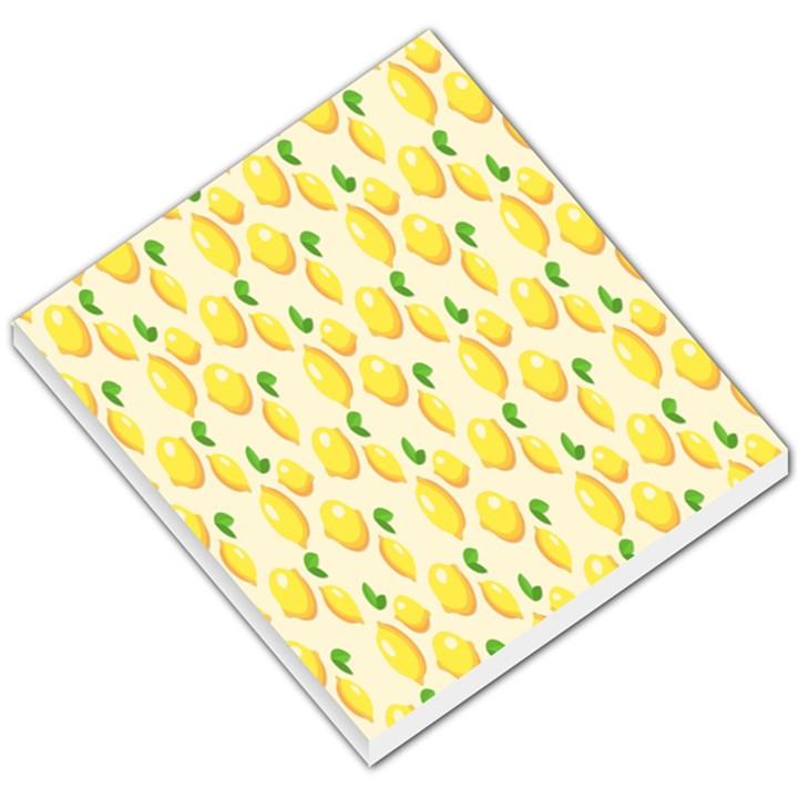 Pattern Template Lemons Yellow Small Memo Pads