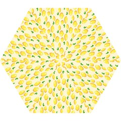 Pattern Template Lemons Yellow Mini Folding Umbrellas
