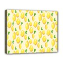 Pattern Template Lemons Yellow Deluxe Canvas 20  x 16   View1