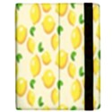 Pattern Template Lemons Yellow Samsung Galaxy Tab 7  P1000 Flip Case View2