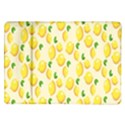 Pattern Template Lemons Yellow Samsung Galaxy Tab 10.1  P7500 Flip Case View1