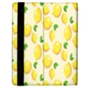 Pattern Template Lemons Yellow Samsung Galaxy Tab 10.1  P7500 Flip Case View2