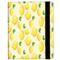 Pattern Template Lemons Yellow Samsung Galaxy Tab 10.1  P7500 Flip Case View3