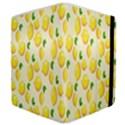 Pattern Template Lemons Yellow Samsung Galaxy Tab 8.9  P7300 Flip Case View4