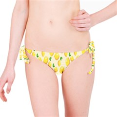 Pattern Template Lemons Yellow Bikini Bottom