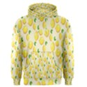 Pattern Template Lemons Yellow Men s Pullover Hoodie View1