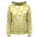 Pattern Template Lemons Yellow Women s Pullover Hoodie View1