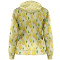 Pattern Template Lemons Yellow Women s Pullover Hoodie View2