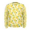 Pattern Template Lemons Yellow Men s Sweatshirt View1