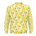 Pattern Template Lemons Yellow Men s Sweatshirt View2