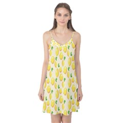 Pattern Template Lemons Yellow Camis Nightgown